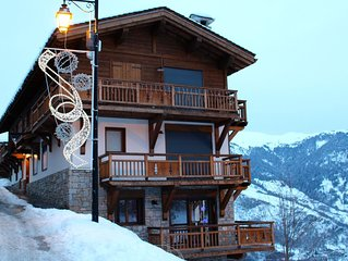 Fantastic accommodation in the heart of La Tania next to the piste & restaurants