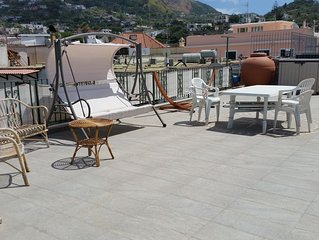 A roof terrace to enjoy Forio