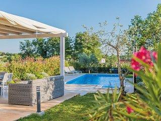 Villa ALMA with swimming pool, sea view, bikes and WIFI - Kastelir