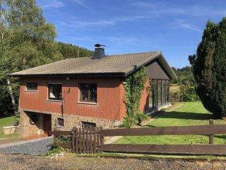 Ferienhaus mit großem Garten im Hohen Venn