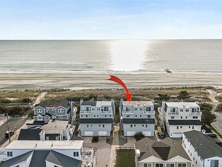 Beach front home in Sea Isle City taking reservations for 2021!