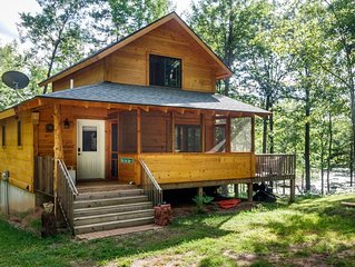Birch Cove Cabin: the perfect location for a quiet, secluded getaway.