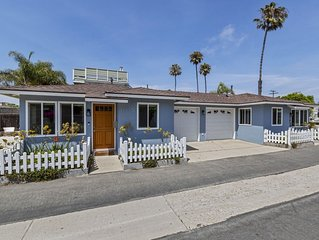 Charming Ventura Beach Bungalow on Prime Beach Lane in Pierpont by the Sea