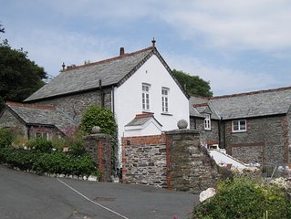 Cottage In Boscastle, Cornwall, England