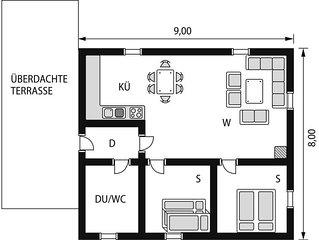 Ferienhaus Skogstjerna (FJS085) in Viksdalen - 5 Personen, 2 Schlafzimmer