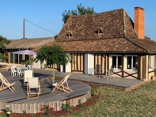 Ferienhaus Fournils (BPT100) in Beaupouyet - 6 Personen, 3 Schlafzimmer