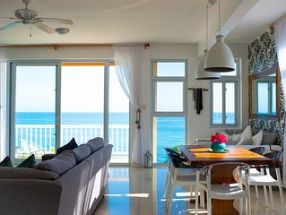 Modern Oceanfront Penthouse - Luxury Gated Complex with 2 Amazing Seaside Pools!