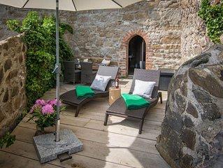 Turm mit Sauna und Terrasse in der Altstadt Bautzens für 12 Person