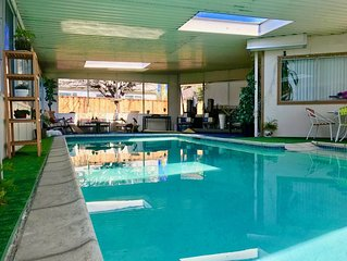 Lovely and cozy-  Pet Friendly with Indoor heated pool