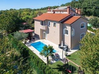 Splendid Villa in Vizinada with Jacuzzi