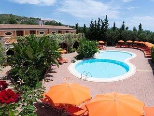 Stilvoller Urlaub im Herzen von Marina di Camerota - strandnah und mit Pool