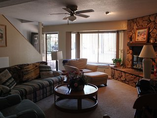 Amazing Condo In The Heart Of Pinetop- Backs Up To The National Forest
