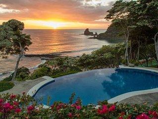 VILLA COLIBRÍ - Beachfront Pool