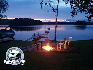 Rustic Lakeside Camp with an Amazing View