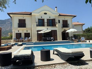 Luxury family villa with private swimming pool, sleeps 8