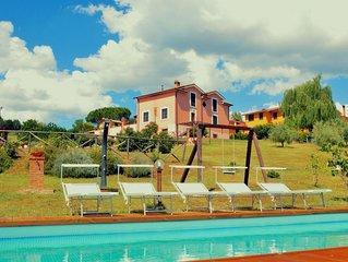 Modern Farmhouse in San Gemini with Swimming Pool