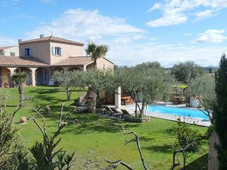 Cozy Villa in Roquemaure France With Swimming Pool