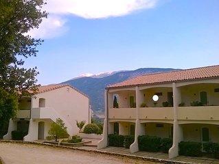 Studio avec vue et piscine en Provence-Ventoux. Pas du Ventoux, Col de Veaux