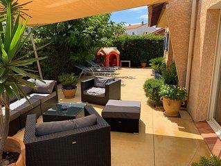 Très belle villa contemporaine bord de mer Narbonne-Plage