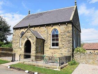Beautifully converted Chapel, stunning village, fantastic gastro pub.