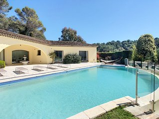 Newly renovated luxury villa with heated pool offering ultimate privacy
