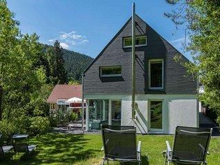 Exklusives Ferienhaus Dieboldsberg: Sauna, Whirlpool, Kamin, Spielempore & Spiel