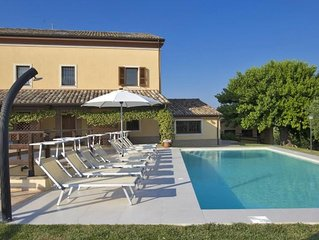 Ferienhaus Senigallia für 12 Personen mit 6 Schlafzimmern - Ferienhaus