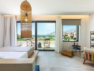 Villa Smili- Naiades/ 3 bedrooms,luxury,beachfront