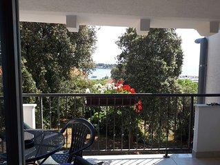 Ferienwohnung Mari  A2(4+1)  - Petrcane, Riviera Zadar, Kroatien