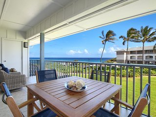 Poipu Sands #428: Central Poipu Location W/ Ocean View and Heated Pool!