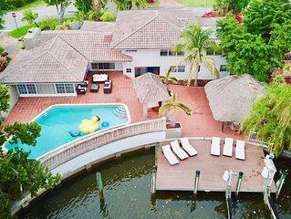 Tropical Miami Villa heated pool 7min South Beach