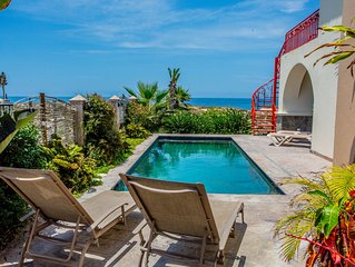 Best Deal - Ocean Front Todos Santos 5  BR Villa Rent all or part