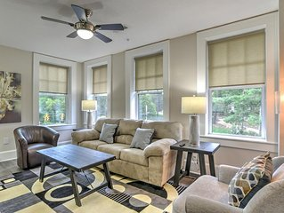 Charming, newly renovated condo #10 in historic King James Building