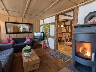 Historisches Gerberhaus - Romantisches Feriendomizil mit Sauna, Kamin, handgefer