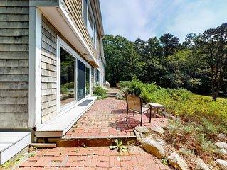 NEW LISTING! Dog-friendly home w/ Buzzards Bay view, deck & neighborhood beach!