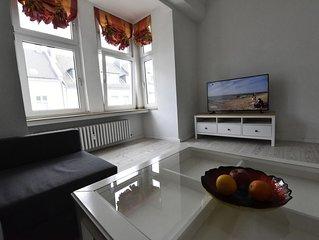 Luxuriöse 2 Zimmer Wohnung im Jugendstilhaus zum relaxen und Wohlfüllen - WiFi