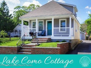 Pristine Lake Como/Belmar Beach Cottage - 5 blocks to Beach