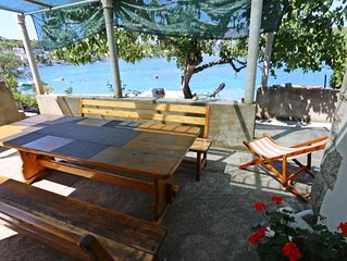 Two bedroom apartment near beach Lumbarda (Korcula) (A-4446-c)