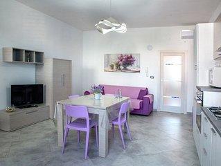 In Residence di nuovissima costruzione a 100 metri dalla spiaggia piu bella del