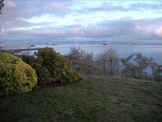 Amazing Port Angeles Harborview & Coast Guard Station Views from Jaden's Getaway