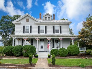 Historic 6 bedroom historic bed an breakfast with Stunning Views