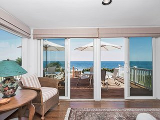 Spend the holidays gazing at the ocean. Located on the water and Marginal Way.