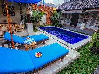 Cozy 2 bedroom villa in Seminyak Bali