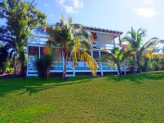 Spacious, private Caribbean villa,  Close to Zoni Beach