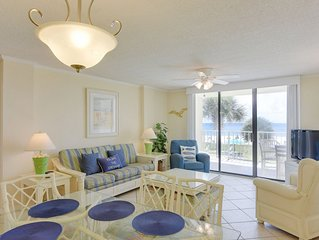 208 Sunswept 3 BD/3 BATH Gulf Front Condo DIRECTLY ON THE BEACH