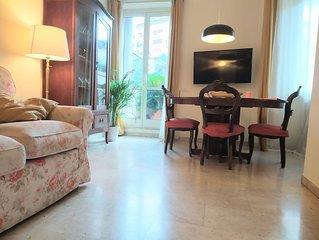 appartamento 5 camere 4 bagni tra Trastevere e Testaccio con grande terrazza