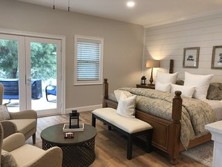 Walk to Wineries! Romantic & Private Guest Suite in the heart of Wine Country