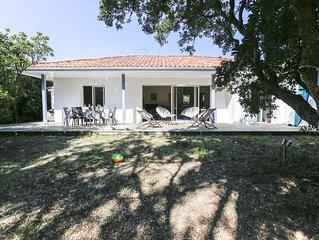Belle villa à 200 m de la plage, grand jardin sans vis à vis !