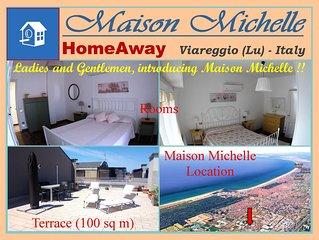 Maison Michelle: Delizioso attico fra Lago e Mare