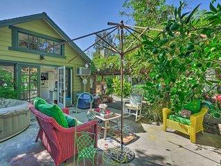 NEW! Downtown Orange Cottage w/ Garden & Hot Tub!